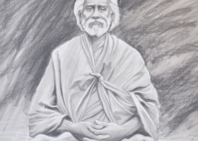 Sri Yuktesvar Giri sketch HR