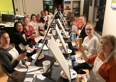 copperwest wine and painting